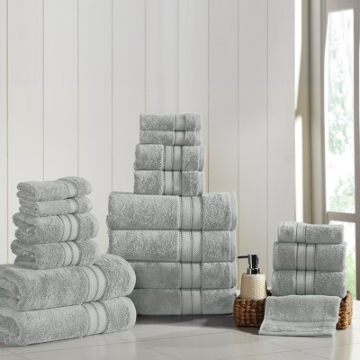 Modern Threads Spunloft 18 Piece Towel Set.