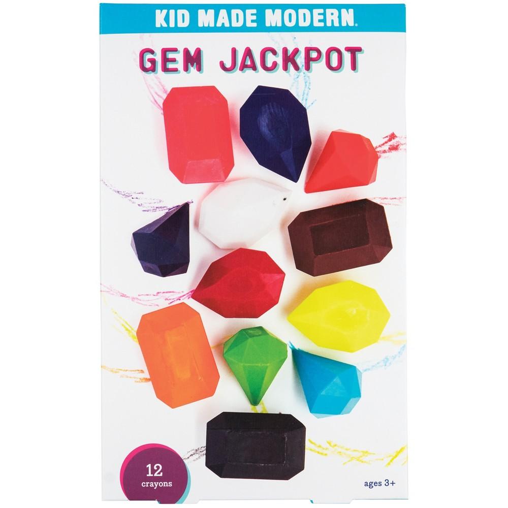 Image of Kid Made Modern 12ct Gem Jackpot Crayons