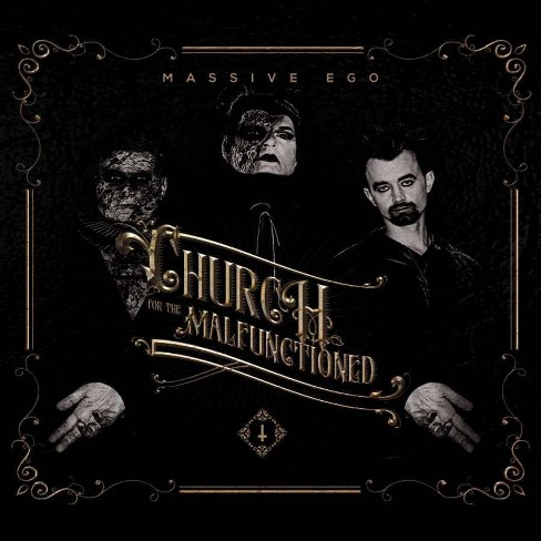 Massive Ego - Church For The Malfunctioned (CD) - image 1 of 1