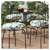 "4pk 18"" Marlow Floral Outdoor Bistro Chair Cushions - Kensington Garden - image 2 of 4"