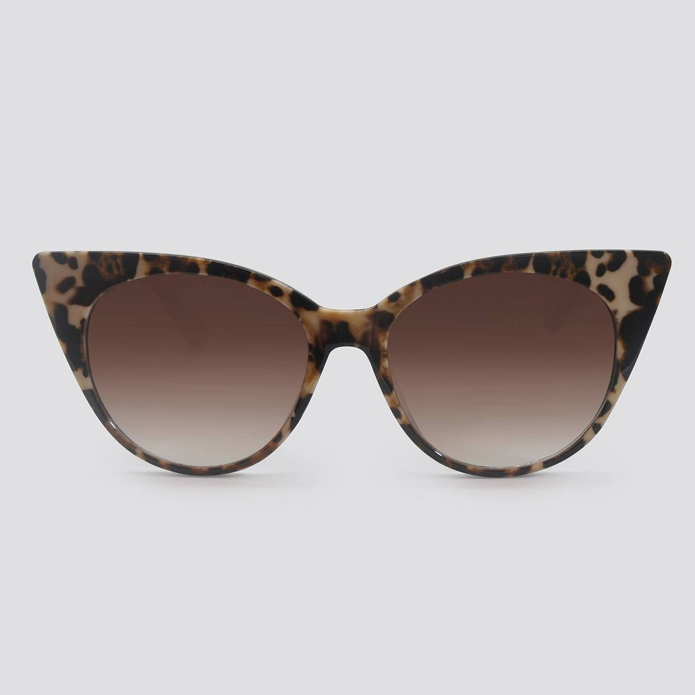 1950s Sunglasses & 50s Glasses | Retro Cat Eye Sunglasses Women39 Animal Print Cateye Platic unglae - A New Day8482 $14.99 AT vintagedancer.com