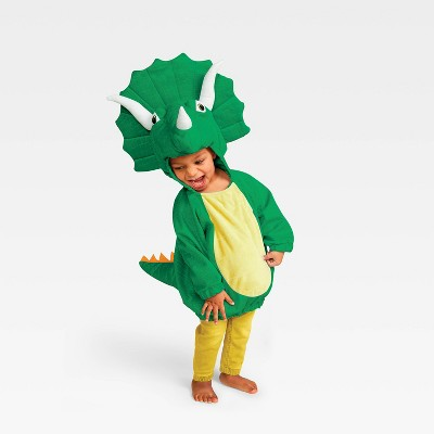 Baby Pullover Triceratops Halloween Costume Green - Hyde & EEK! Boutique™