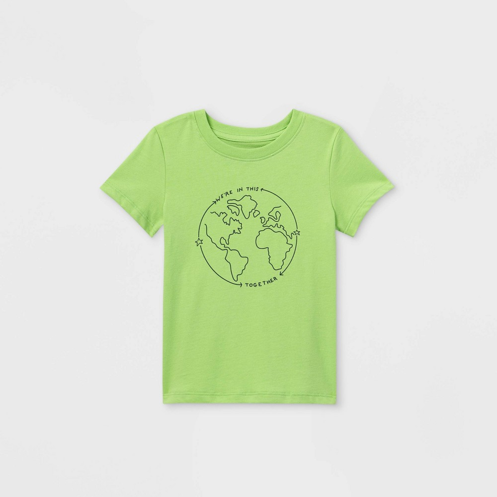 Toddler Boys 39 39 All In This Together 39 Graphic Short Sleeve T Shirt Cat 38 Jack 8482 Light Green 18m