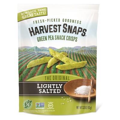 Veggie & Grain Chips: Harvest Snaps Green Pea