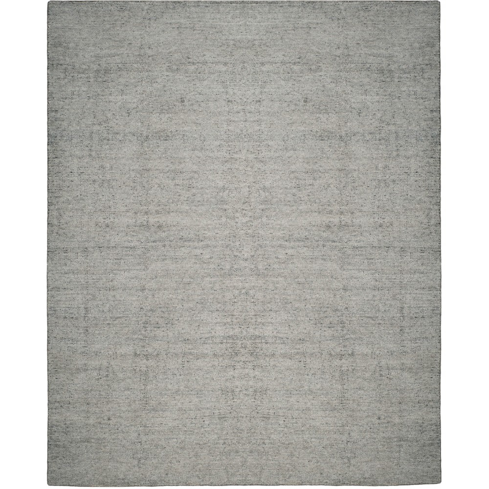 8 X10 Solid Knotted Area Rug Blue Safavieh