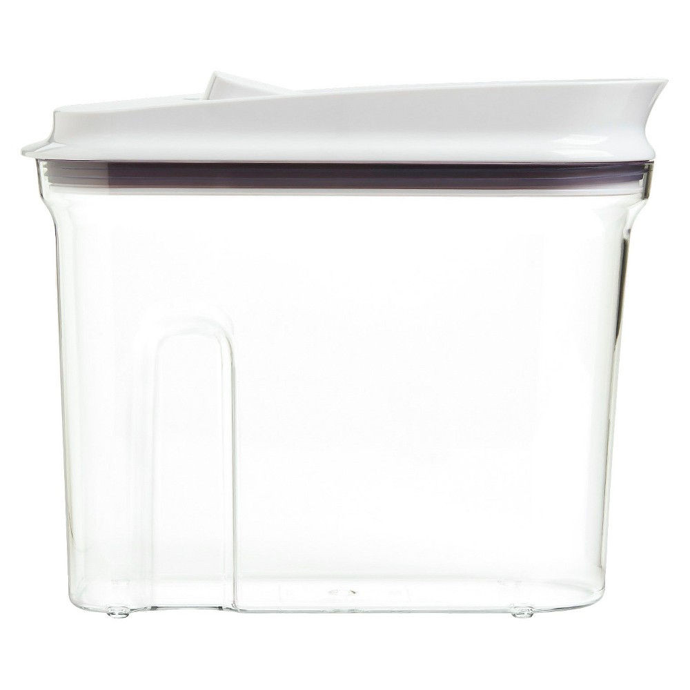 Oxo Pop 2.5qt Airtight Cereal Dispenser, White