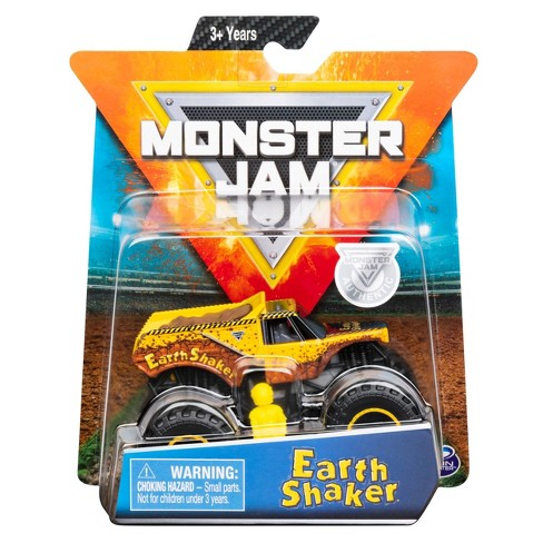 Monster Jam 1:64 Single Pack Assorted - Earth Shaker AF - image 1 of 4
