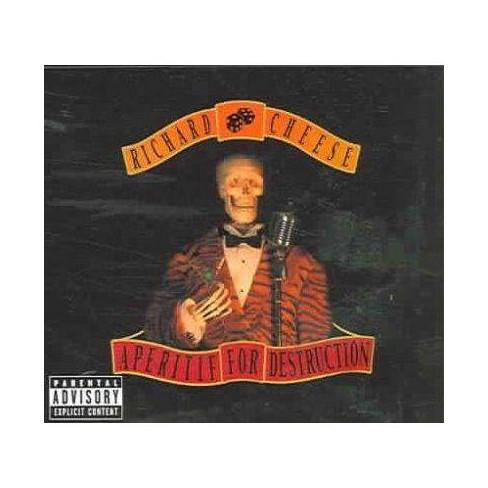 Richard Cheese - Aperitif for Destruction (Bonus Track) (PA) (Digipak) (CD) - image 1 of 1