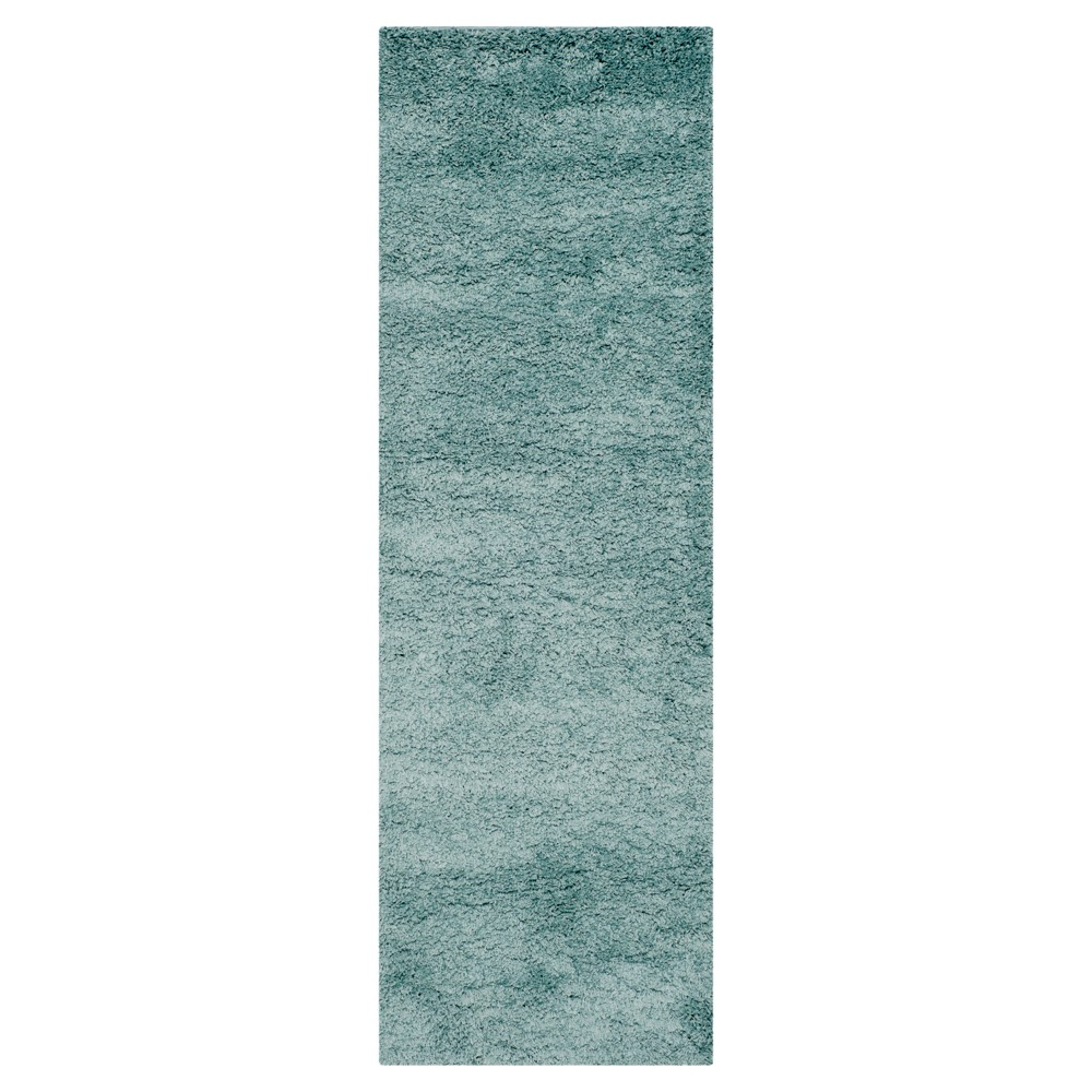 Quincy Rug - Light Blue (2'3X8' Runner) - Safavieh