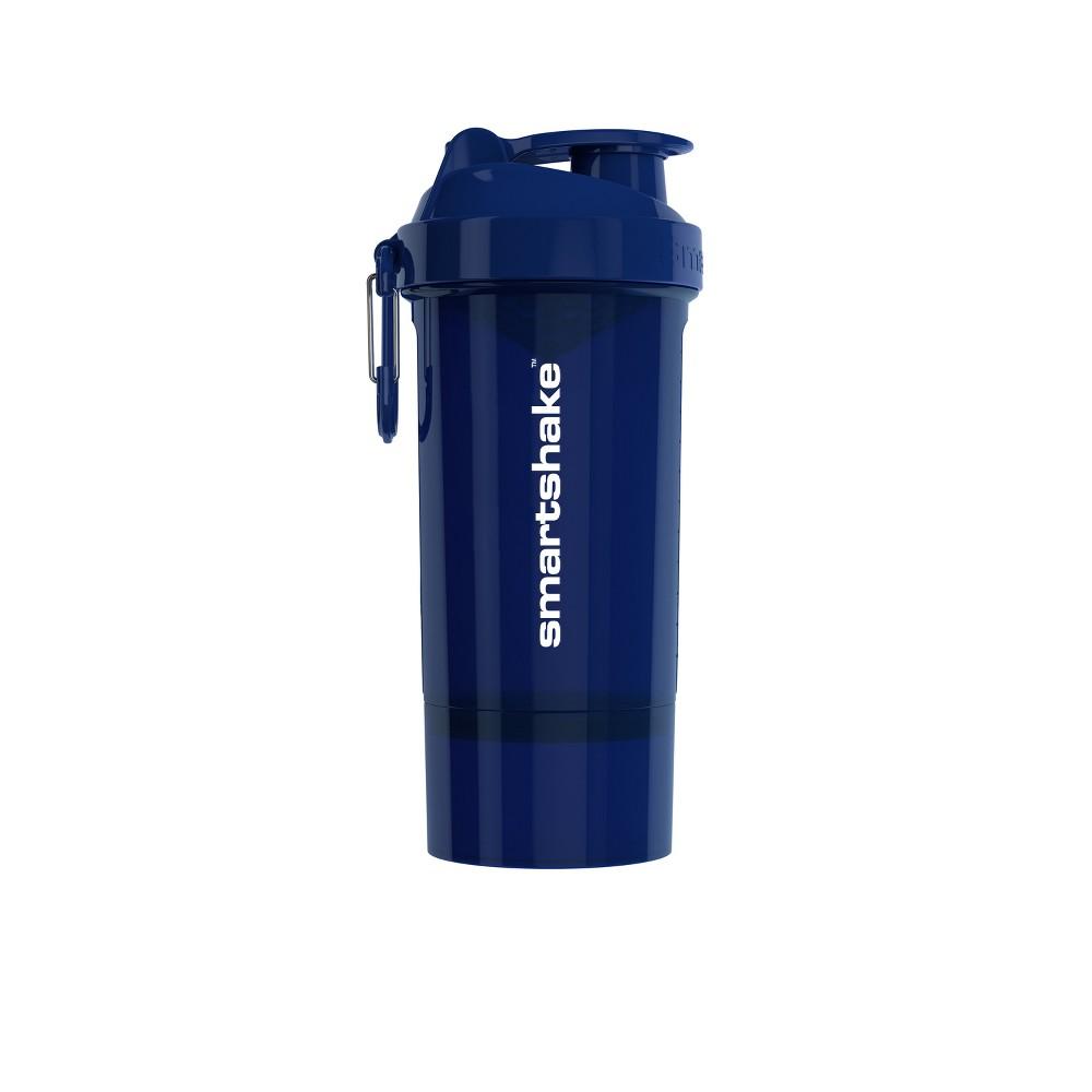 Smartshake 27oz Original2GO Shaker Bottle - Navy Blue