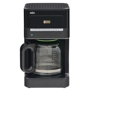 Braun Coffee Maker All Black - image 1 of 6