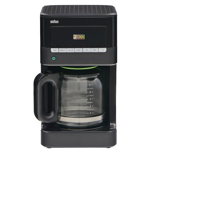 Braun Coffee Maker All Black - image 1 of 6