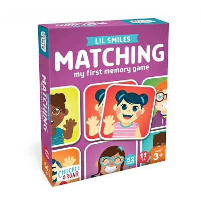 Chuckle & Roar Matching L'il Smiles Game
