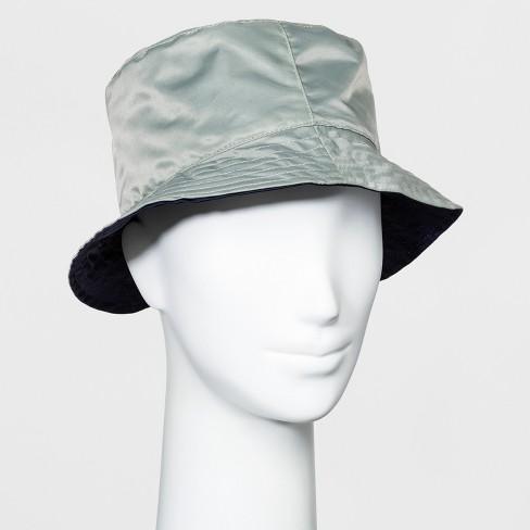 ed3d31de8d9 Women s Reversible Rain Bucket Hat - A New Day™ Navy   Target