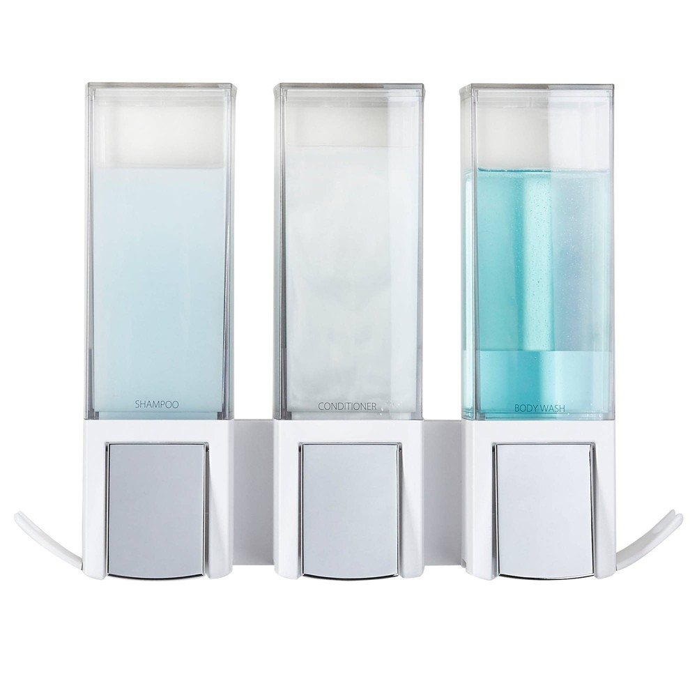 Clever Triple Dispenser White Better Living Products