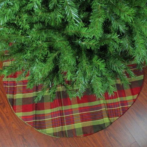 Northlight 48 Red And Green Plaid Rustic Woodland Christmas Tree