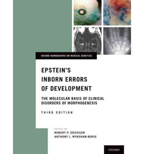 Epstein's Inborn Errors of Development : The Molecular Basis of Clinical Disorders of Morphogenesis - image 1 of 1