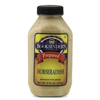 Bookbinder's Prepared Horseradish - 9.75oz