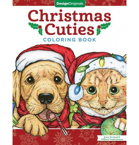 Christmas Cuties Coloring Book (Paperback) (Jenny Newland & William Vanderdasson) - image 1 of 1