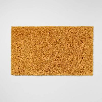 "20""x34"" Antimicrobial Bath Rug Gold - Total Fresh"