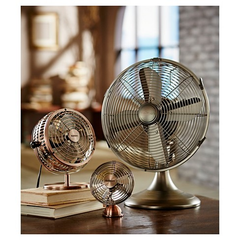 Holmes Metal Desk Fan Medium Bronze Hdf0646 Ct