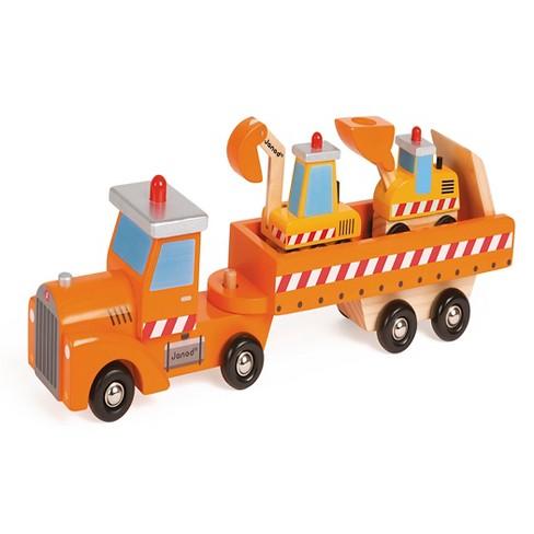 Janod Construction Truck 2Bulldozers - image 1 of 2