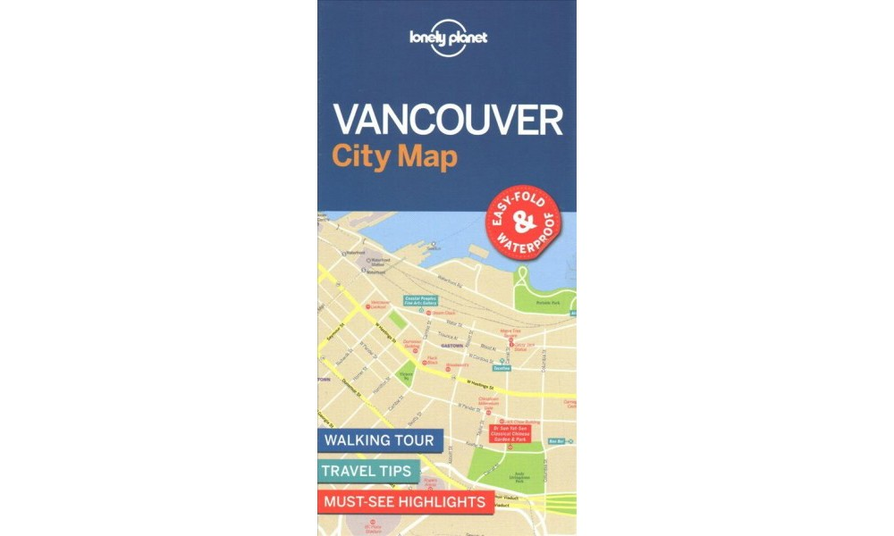 Lonely Planet Vancouver City Map (Paperback)