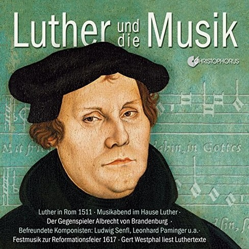 Various - Luther & Music (CD) - image 1 of 1