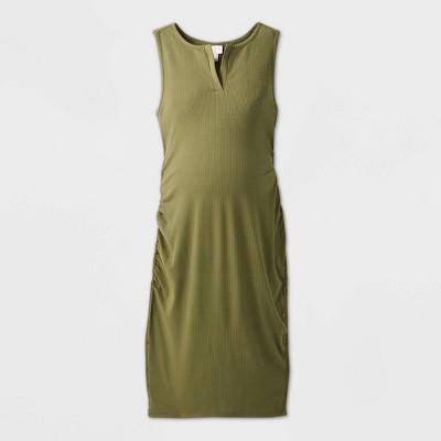 Sleeveless Rib T-Shirt Maternity Dress - Isabel Maternity by Ingrid & Isabel™