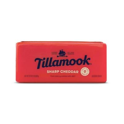 Tillamook Sharp Cheddar Cheese Loaf - 32oz