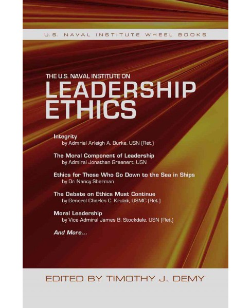 U.S. Naval Institute on Leadership Ethics (Paperback) - image 1 of 1