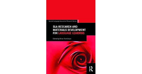 SLA Research and Materials Development for Language Learning (Reprint) (Paperback) - image 1 of 1
