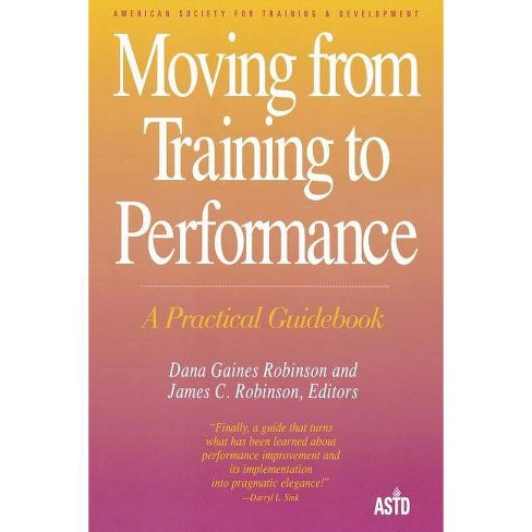 Moving from Training to Perform(tr - (Paperback) - image 1 of 1