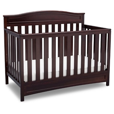 Delta Children® Emery 4-in-1 Convertible Crib - Dark Chocolate