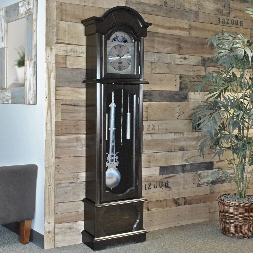 Image of FirsTime Espresso Grandfather Clock Espresso Brown