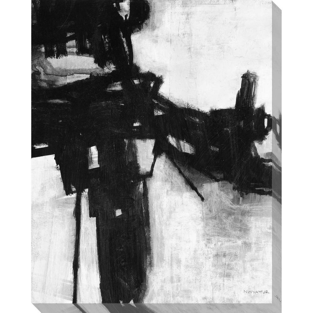 Image of Interruption Unframed Wall Canvas Art - (24X30)