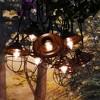 10 Lights Metal Up Lid Electric Café String Lights Bronze - image 4 of 4