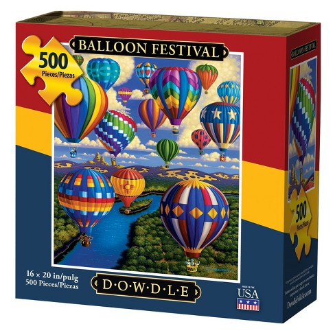 Dowdle Jigsaw Puzzle - Balloon Festival - 500pc - image 1 of 4