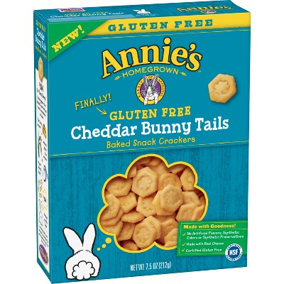 Crackers: Annie's Cheddar Bunny Tails