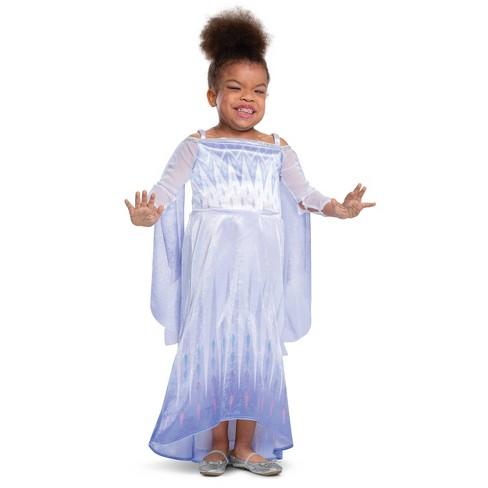 Kids' Adaptive Frozen Elsa Snow Queen Halloween Costume - image 1 of 1