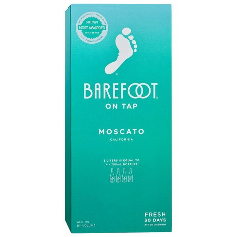 Barefoot Moscato White Wine - 3L Box - image 1 of 3