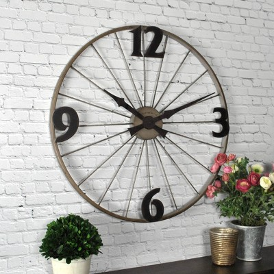 Bicycle Wheel Wall Clock - FirsTime