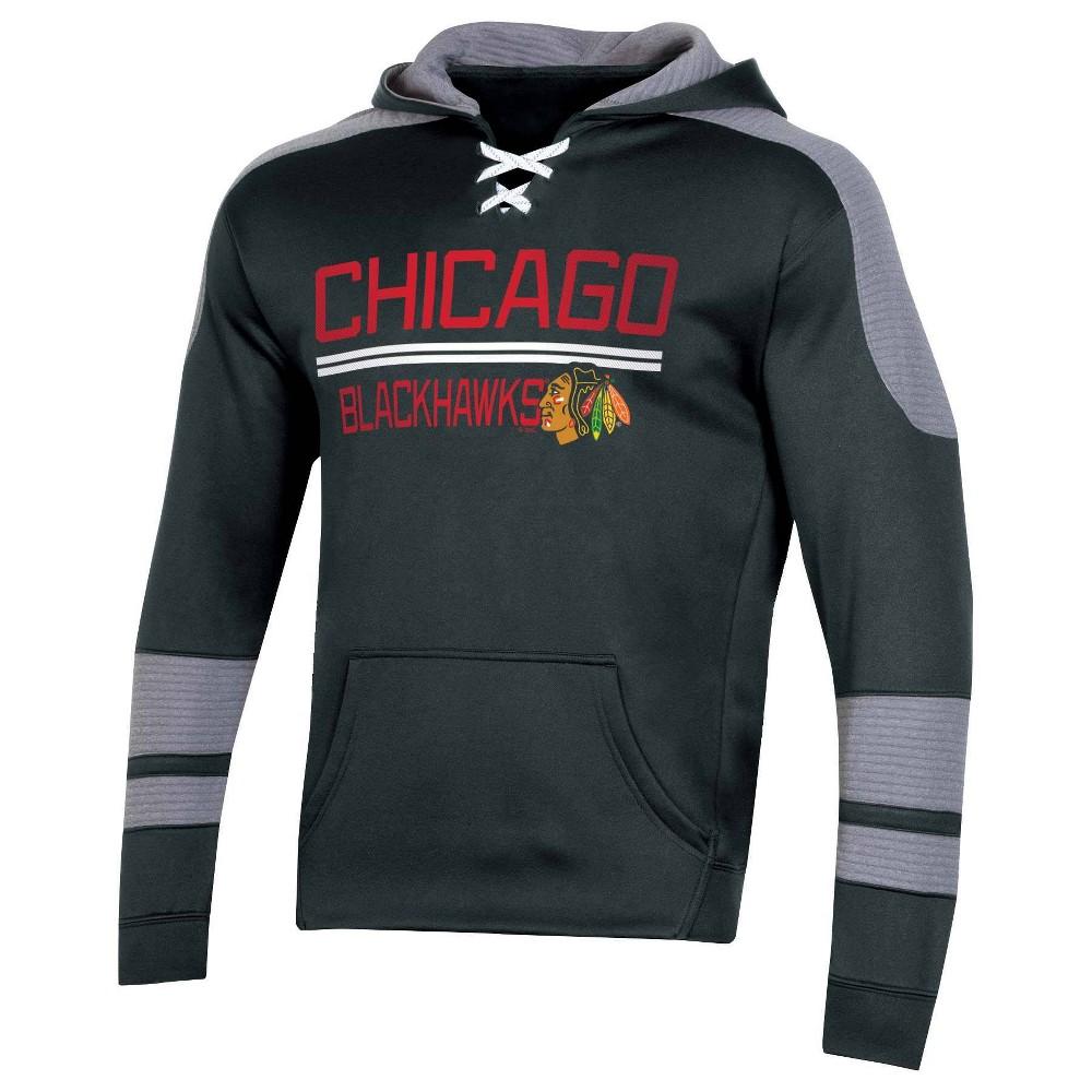 Nhl Chicago Blackhawks Men 39 S Edge Poly Textured Hoodie S