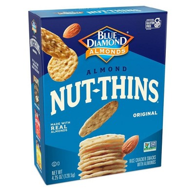 Blue Diamond Nut Thins Almond - 4.25oz