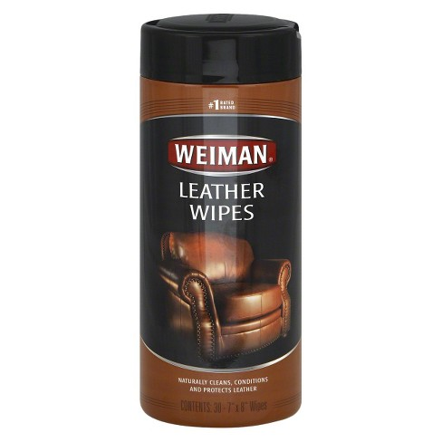 Weiman Leather Wipes - 30ct - image 1 of 2