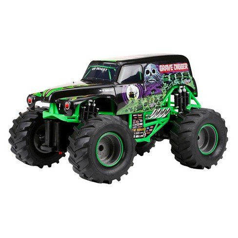 New Bright 1:15 R/C FF Monster Jam Grave Digger - image 1 of 5