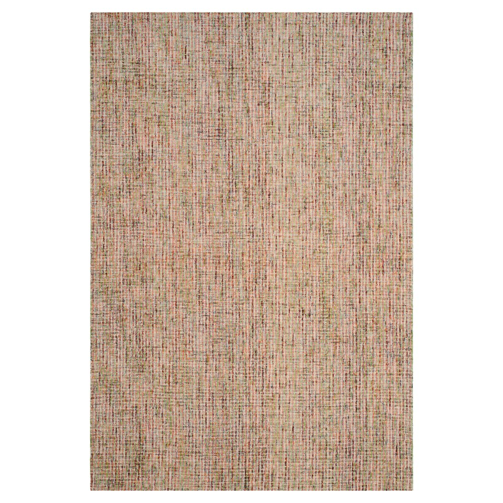 Gold Blue Abstract Tufted Area Rug 6 39 X9 39 Safavieh