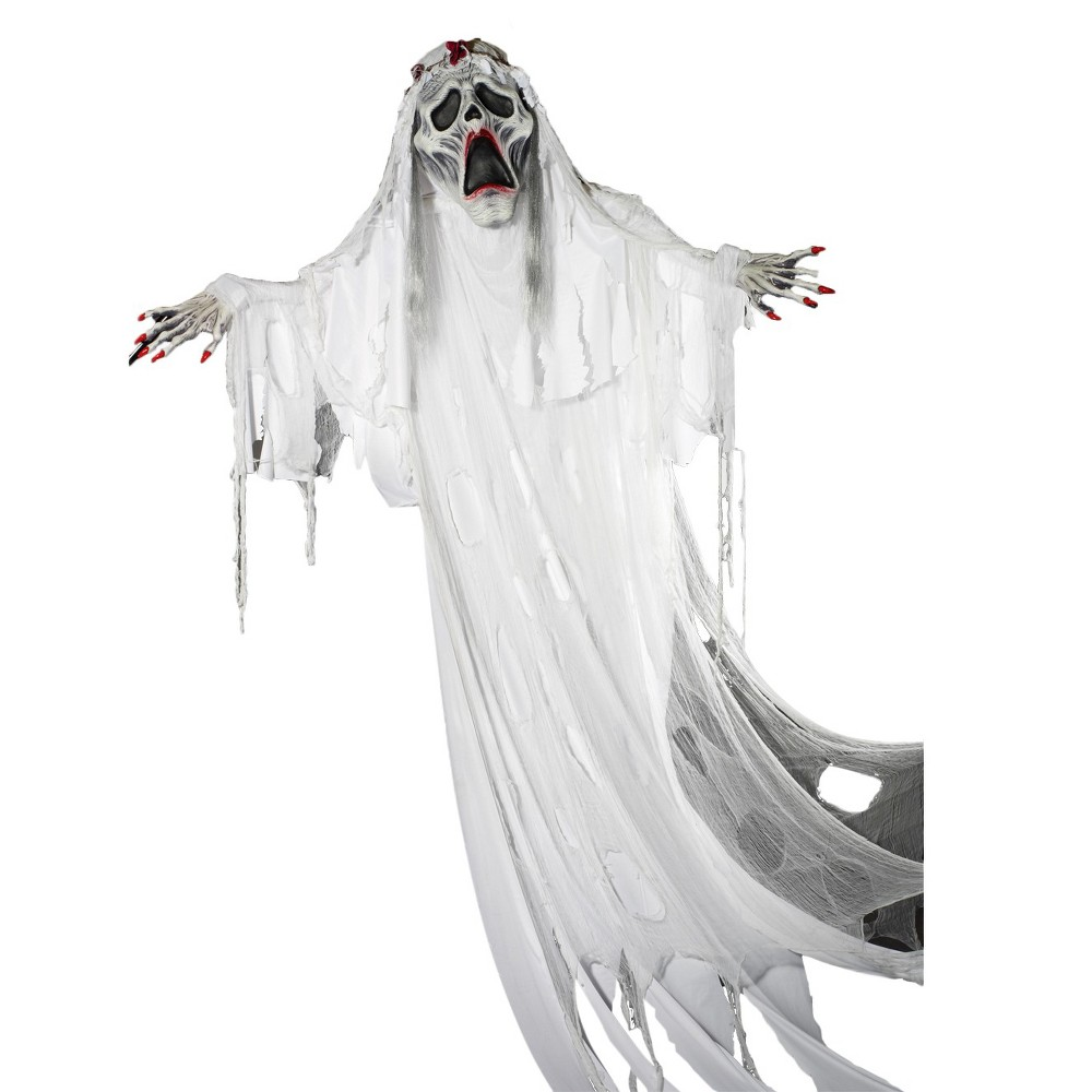 Image of Halloween Ghost Bride Decor, White