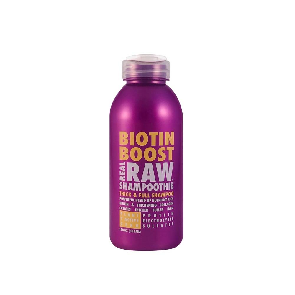 Image of Real Raw Shampoothie Biotin Boost Thick & Full Shampoo - 12 fl oz