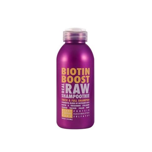 Real Raw Shampoothie Biotin Boost Thick & Full Shampoo - 12 fl oz - image 1 of 3